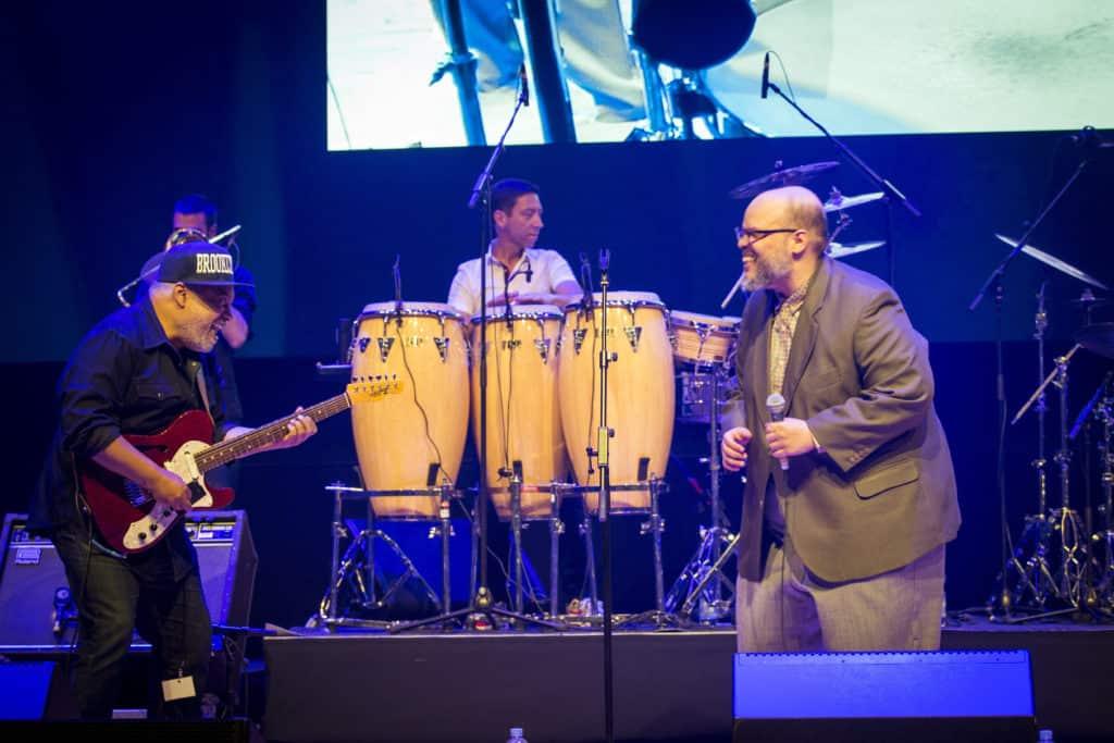 Fotoaufnahmen während des Jazzfest Bonn 2018, hier: incognito am 27.04.2018 im Telekom Forum Bonn