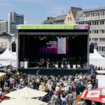 Open-Air-Konzert und Demokratie-Fest