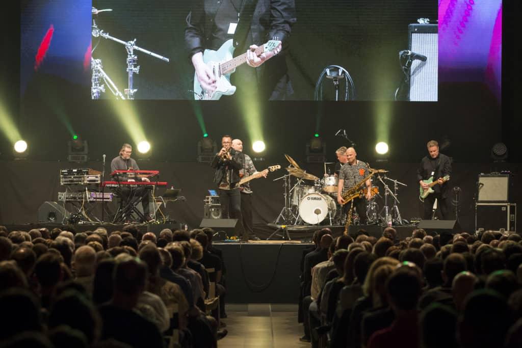 Fotoaufnahmen während des Jazzfest Bonn 2019, hier: Mezzoforte im Telekomforum Bonn am 31.05.2019