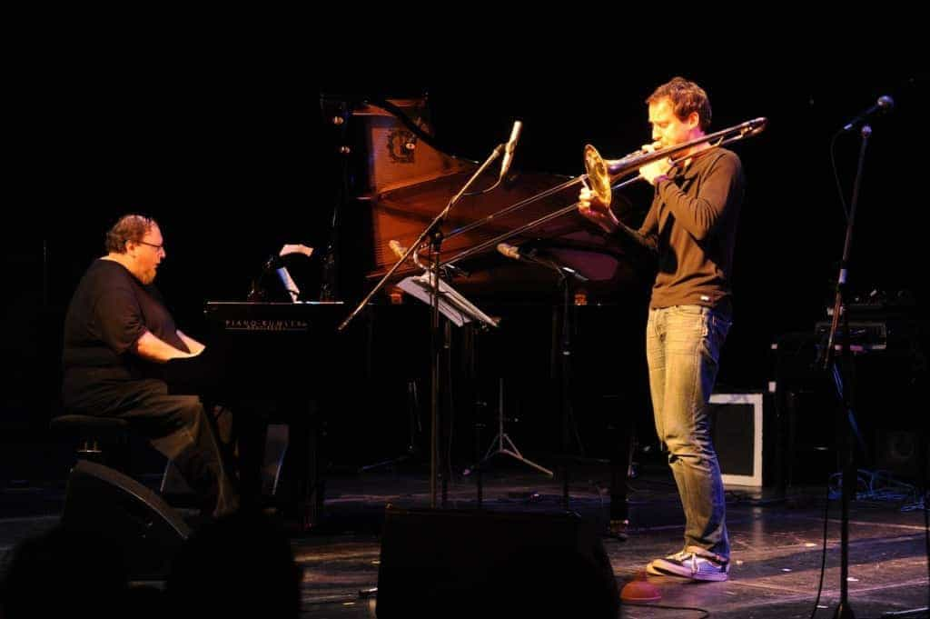 Simon Nabatov und Nils Wogram 1