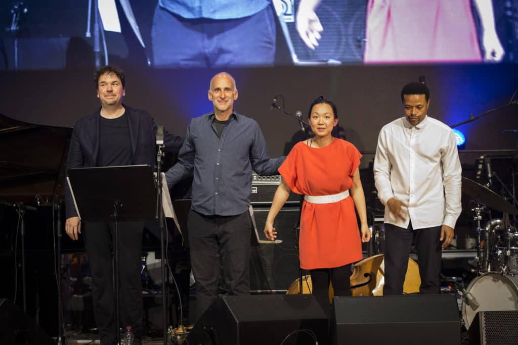Fotoaufnahmen während des Jazzfest Bonn 2019, hier: das Florian Weber Quartett im Telekomforum Bonn am 25.05.2019