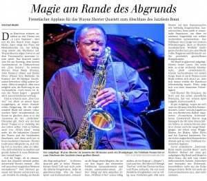 Konzert im Telekom-Forum, 01.06.2014 Wayne Shorter Quartett, Matthew Herbert Big Band Jazzfest Bonn
