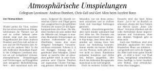 Konzert 25.05.2014 im Collegium Leoninum Jazzfest Bonn Dombert Gal Geri Allen