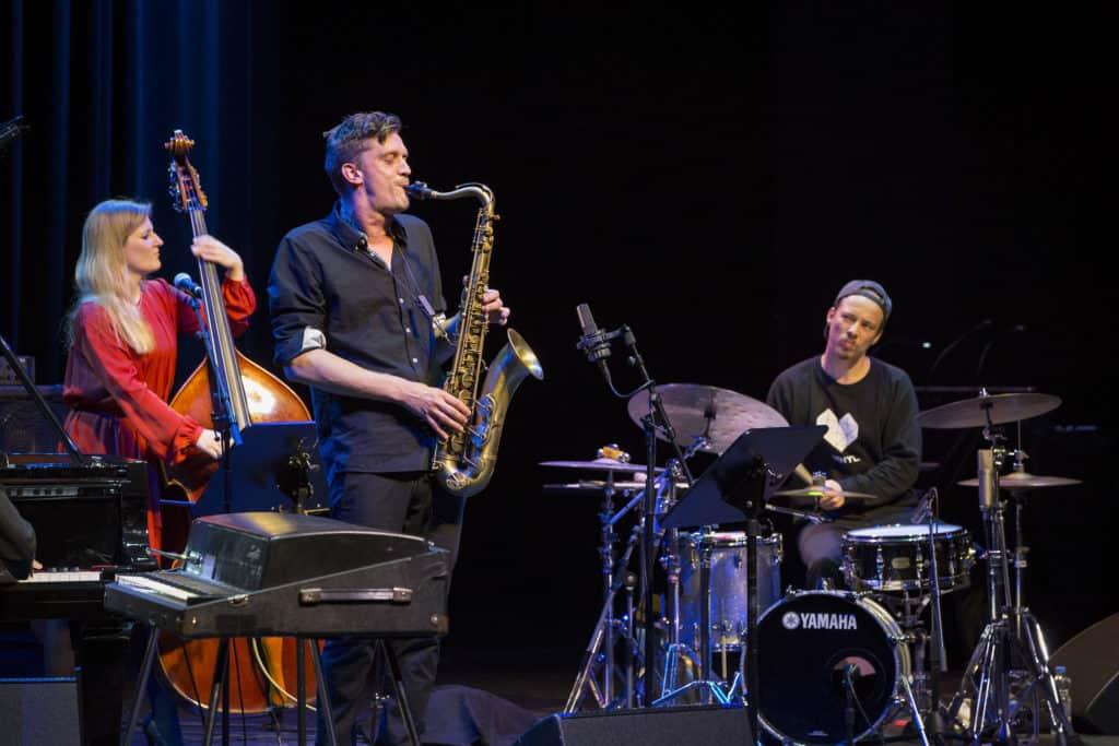 Fotoaufnahmen während des Jazzfest Bonn 2019, hier: das Lisa Wulff Quartett am 17.05.2019 in der Oper Bonn