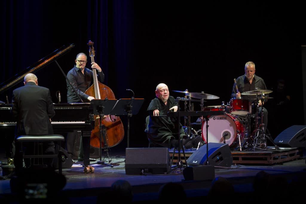 Fotoaufnahmen während des Jazzfest Bonn 2019, hier: das Thomas Quasthoff Quartett am 17.05.2019 in der Oper Bonn