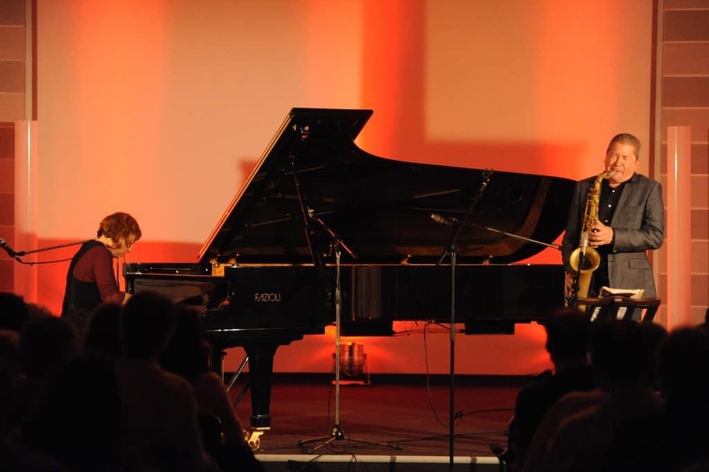 Rita Marcotulli und Andy Sheppard